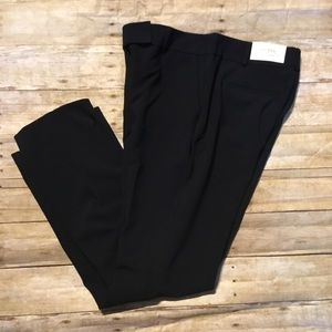 Ann Taylor trousers curvy fit sz 10 black